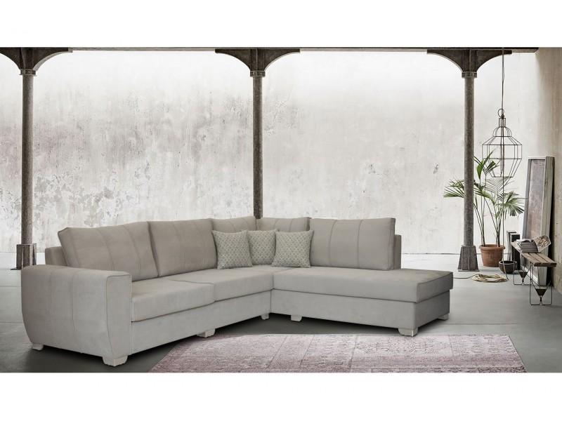 Γωνιακός Καναπές BORA με αδιάβροχο και αλέκιαστο ύφασμα
